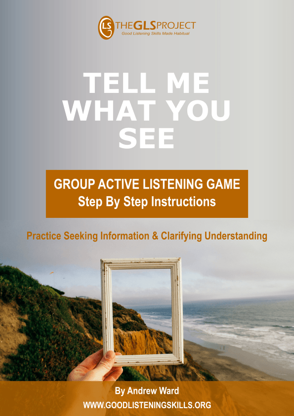 Active Listening Game - Tell Me What You See